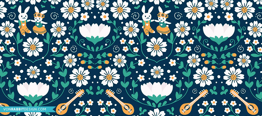 von-rabbit-design-mintatervezes-midsummer-meadow-kek